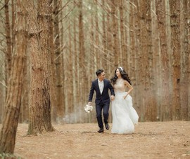Á hậu Thúy An tung ảnh cưới, công bố ngày lên xe hoa