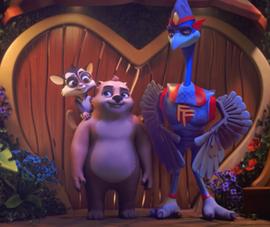 'Vì yêu mà đấu' phim hoạt hình tết vui nhộn