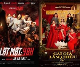 Bão phim Việt đổ bộ đầu năm 2021