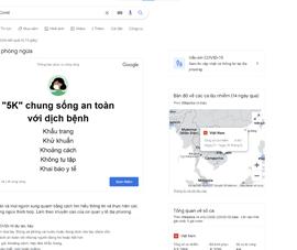 Google Doodle cung cấp thông tin phòng chống COVID-19 hữu ích