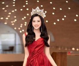 Bản phác thảo đầm dạ hội cho Hoa hậu Đỗ Thị Hà tại Miss World 2021