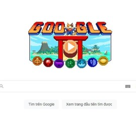 Olympic Tokyo 2020 được Google Doodle tôn vinh bằng game 16 bit
