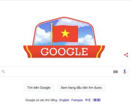 Google Doodle tôn vinh ngày Quốc khánh Việt Nam 2-9