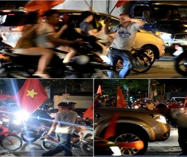 Người đàn ông chặn đầu ô tô nhảy bất chấp giữa Sài Gòn
