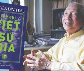 Sử gia Nguyễn Đình Đầu hơn 100 tuổi vẫn minh mẫn, thông tuệ