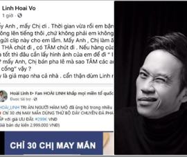 Hoài Linh bị mạo danh bán dây chuyền pha lê cao cấp giá...299k