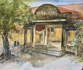 Triển lãm tranh màu nước về địa ngục trần gian Côn Đảo