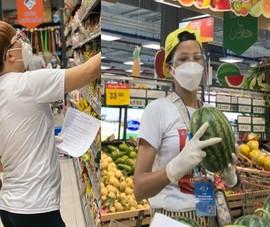 Hoa hậu H'Hen Niê, Đại Nghĩa và dàn sao Việt đi chợ giúp bà con TP.HCM