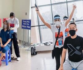 TP.HCM: Nghệ sĩ hỗ trợ cắt tóc, mang âm nhạc đến bệnh viện dã chiến