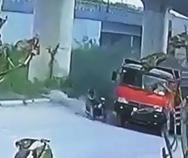 Người đàn ông ngã vào bánh xe ben rồi tử nạn thương tâm