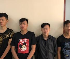 Băng cướp giật ở khu vực gần Cầu Nhị Thiên Đường bị bắt