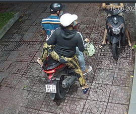 Đôi nam nữ liên tục trộm cắp ở các cửa hàng TP.HCM
