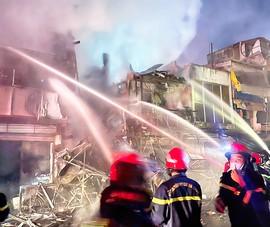 TP.HCM: Cháy 5 căn nhà trên đường Nguyễn Thượng Hiền