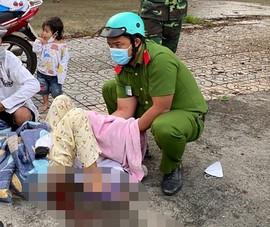Công an trực chốt ở quận Bình Tân đỡ đẻ cho sản phụ ngay trên đường