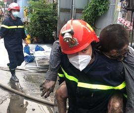 Cháy nhà ở quận Bình Tân, một người chết