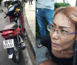 Chạy xe trộm từ Đồng Nai về TP.HCM để giao thì bị bắt