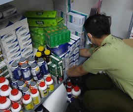 TP.HCM: Hàng ngàn hộp tân dược nghi nhập lậu trong 1 căn nhà