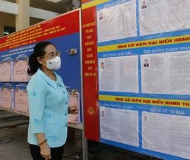Bà Nguyễn Thị Lệ: 'Cần đề cao cảnh giác dịch trong bầu cử'