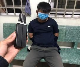 Mang xe máy trộm cắp gửi bãi xe bệnh viện thì bị bắt