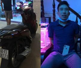 Trộm xe SH ở Biên Hòa mang gửi trong khách sạn ở Bình Dương