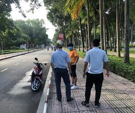 4 người tập thể dục ở công viên Gia Định bị phạt 8 triệu đồng