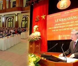 Cán bộ quy hoạch Trung ương sẽ xem Quốc hội chất vấn