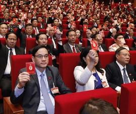 Đại hội XIII trong ngày đầu bàn công tác bầu cử