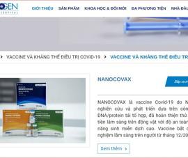 Nano Covax vượt qua cửa Hội đồng Đạo đức cấp quốc gia