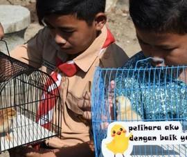 Indonesia đổi điện thoại di động lấy gà, ớt