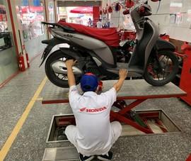 Doanh số xe máy Honda tiếp tục suy giảm tại VN