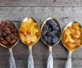 Điều gì bất ngờ khi bạn ăn 1 trái nho khô mỗi ngày