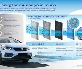 Honda ra mắt bẫy diệt COVID-19 trên xe