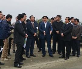 Chủ tịch TP Hà Nội kiểm tra dự án đường trục phía Nam