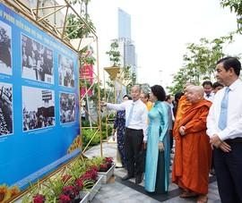 Triển lãm ảnh 90 năm lịch sử Mặt trận tổ quốc Việt Nam