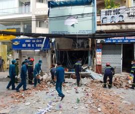 Vụ nổ sập tường ở Phú Nhuận là do rò rỉ khí gas