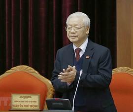 Ông Nguyễn Phú Trọng được bầu làm Tổng bí thư khóa XIII