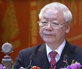 Tổng bí thư Nguyễn Phú Trọng trả lời tại họp báo sau Đại hội