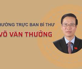 Infographic: Tân Thường trực Ban Bí thư Võ Văn Thưởng