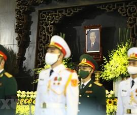 Lễ viếng nguyên Phó thủ tướng Trương Vĩnh Trọng tại Hà Nội