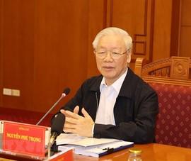 Tổng Bí thư chủ trì họp Ban Chỉ đạo về phòng chống tham nhũng