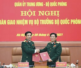 Bộ Quốc phòng tổ chức hội nghị bàn giao nhiệm vụ