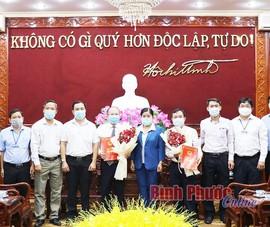 Bình Phước bổ nhiệm lãnh đạo Sở TT&TT, Sở Tài  chính