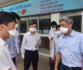 Bộ Y tế lập Bộ phận Thường trực đặc biệt hỗ trợ chống dịch tại TP.HCM