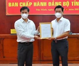 Nhân sự mới tỉnh Tây Ninh