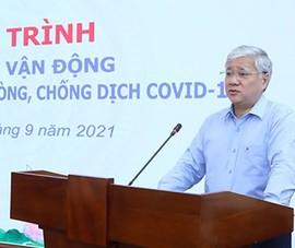 MTTQ Việt Nam tiếp tục vận động toàn dân chung sức phòng chống dịch COVID-19