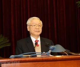Chùm ảnh lãnh đạo Đảng, Nhà nước dự Hội nghị Trung ương 15