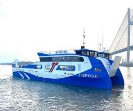 Khai trương phà biển Cần Giờ - Vũng tàu trước Tết dương lịch