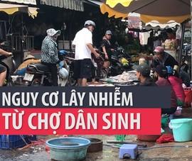 TP.HCM: Giãn cách tại các chợ chưa đúng, lo lây lan dịch