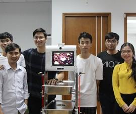 Sắp ra mắt robot hỗ trợ, phục vụ y tế trong dịch COVID-19