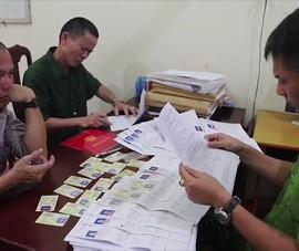 Làm giả 400 giấy phép lái xe, thu lợi bất chính